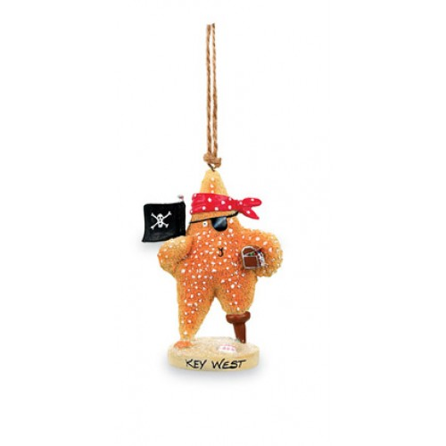 Cape Shore Pirate Starfish Ornament - Coupeville, WA (3 left)